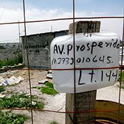 La Avenida Prosperidad, en Chimalhuaca?n. Foto: Humberto Padgett, Sinembargo