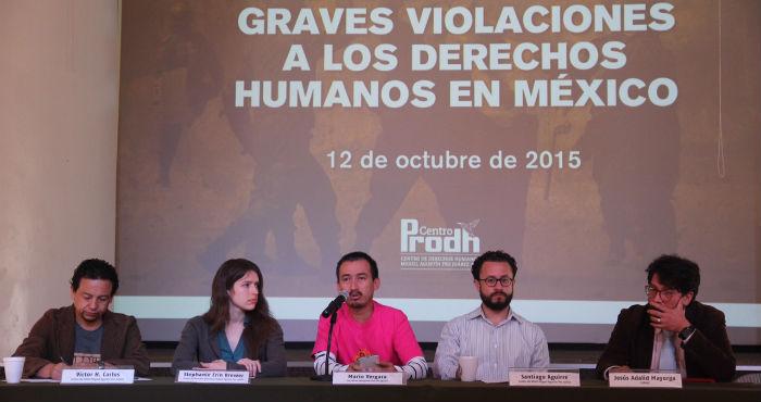 Organizaciones piden que el Estado asuma su responsabilidad y detenga la crisis en derechos humanos. Foto: Luis Barrón, SinEmbargo.