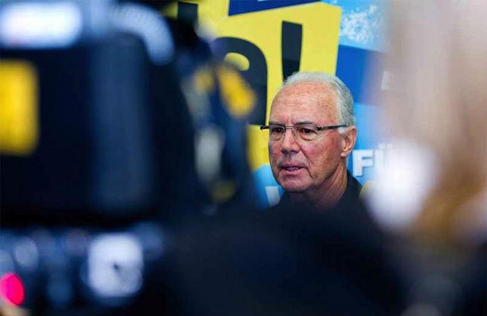 """Hasta el """"Kaiser"""" está en la mira de quienes acusan las múltiples irregularidades en las que ha estado involucrada la FIFA. Foto: EFE"""