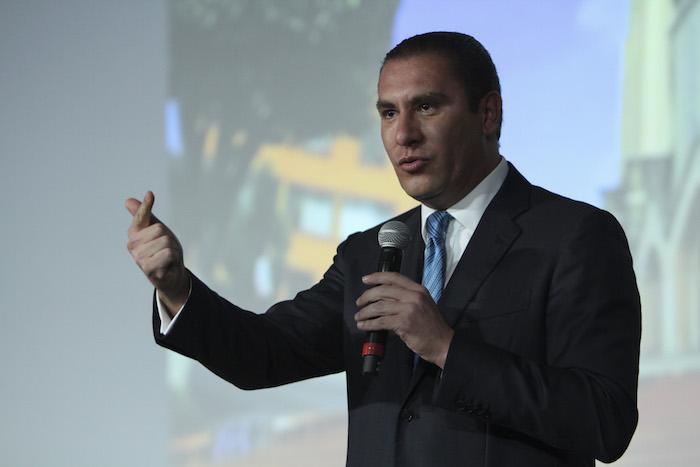 El Gobernador Rafael Moreno Valle fue designado en un sitio estratégico del PAN. Foto: Cuartoscuro.
