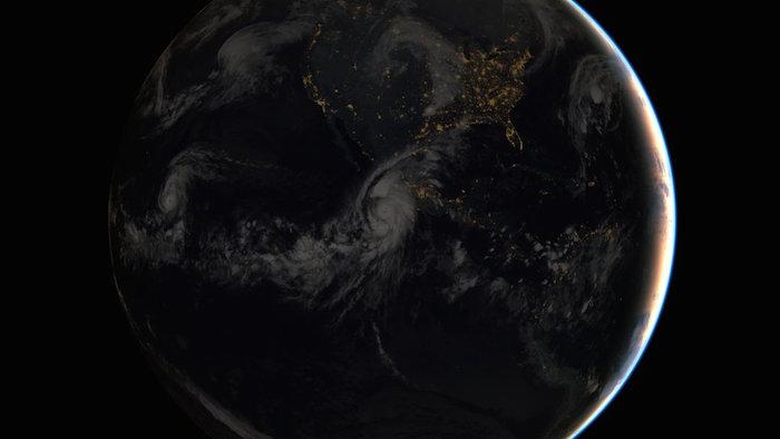Entre los huracanes registrados en México, no existe un antecedente de la magnitud de Patricia. Foto: EUMETSAT.