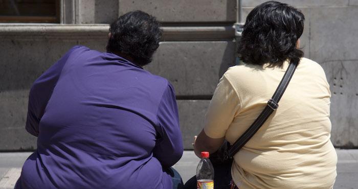 Un 32.4 por ciento de los mexicanos adultos son obesos. Foto: Cuartoscuro.