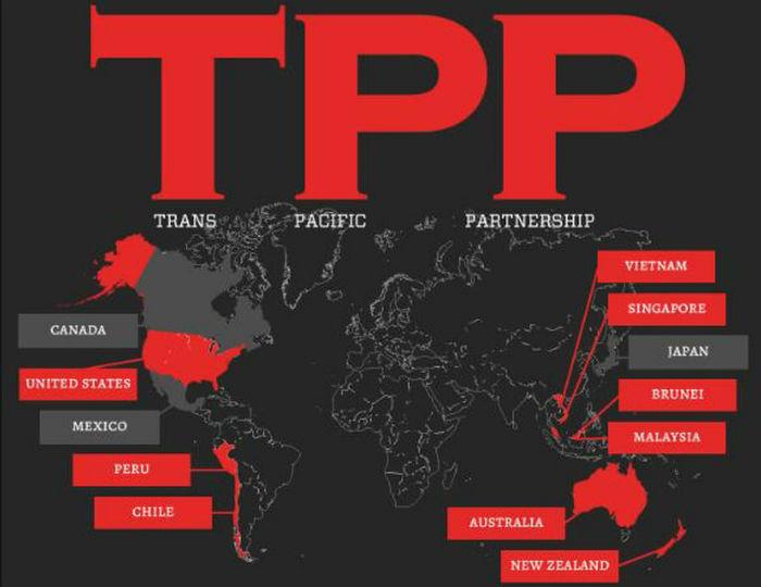 Una docena de países están involucrados en el tratado internacional que coloca los derechos de las empresas por encima de los de las personas. Imagen: Cortesía