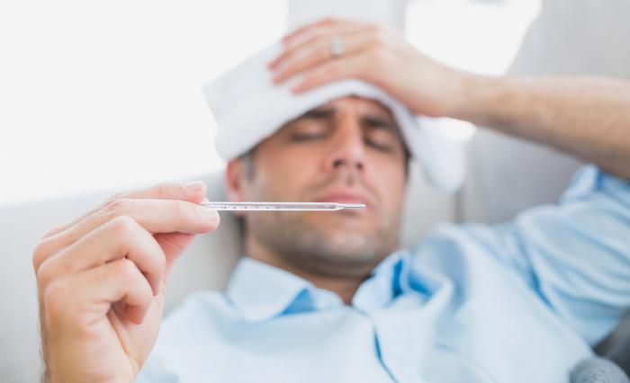 Crioterapia con fiebre