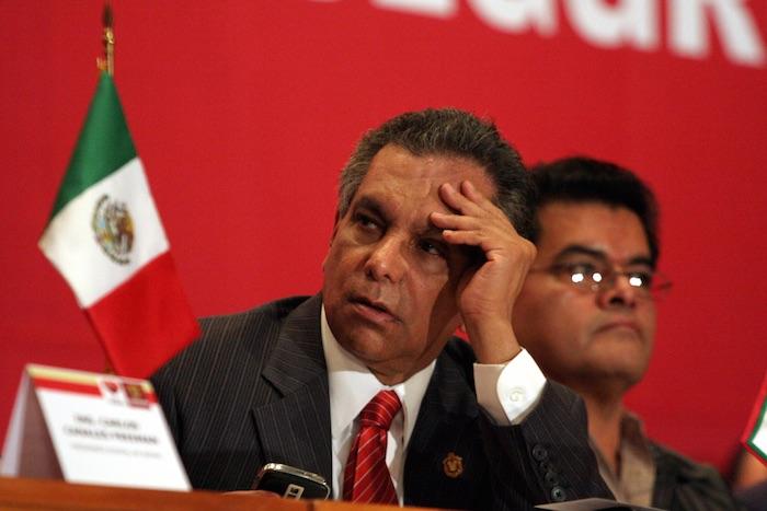 Fidel Herrera Beltrán fue Gobernador de Veracruz de 2004 a 2010. Durante su gestión fue acusado de corrupción y supuesto vínculos con el narcotráfico. Foto: Cuartoscuro