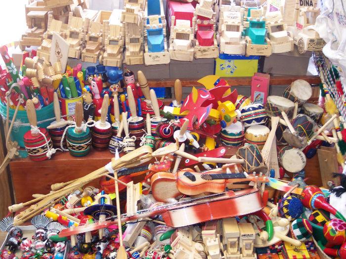 Los entrañables juguetes tradicionales mexicanos. Foto: Facebook
