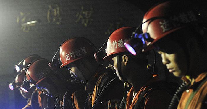 Una explosión provocó que los mineros quedaron atrapados. Foto: EFE, Archivo