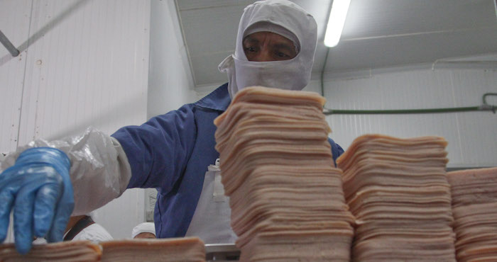 fábrica de salchichas