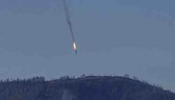 Avión ruso derribado por Turquía. Foto: EFE