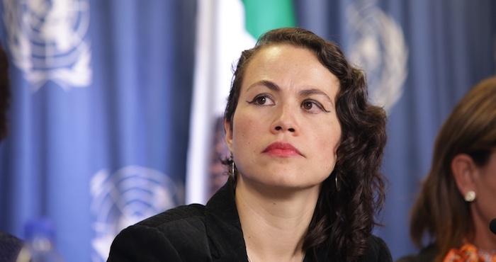 Eugenia López Uribe, Vocal de sociedad civil en CONASIDA, Miembro de Balance A.C Foto: Franciso Cañedo / SinEmbargo