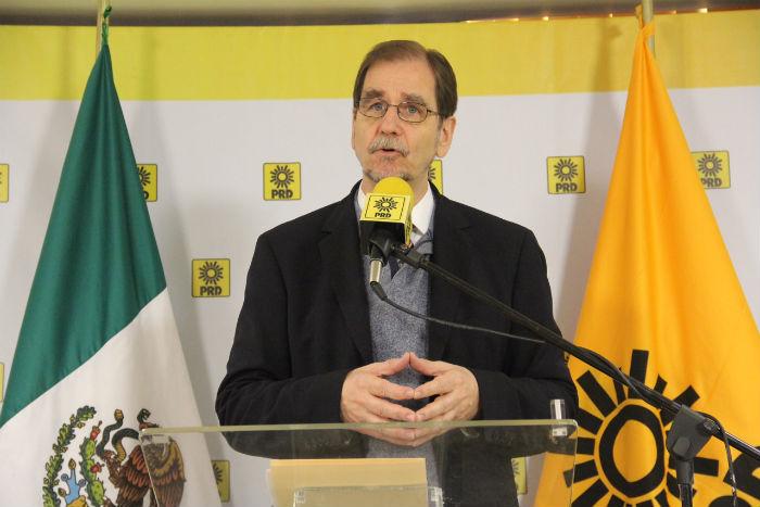 El líder nacional del PRD habría puesto su renuncia sobre la mesa en la reunión del PRD ante la falta de acuerdos sobre las alianzas. Foto: Luis Barrón, SinEmbargo