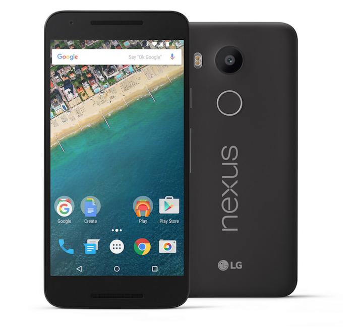 Nexus 5X estará a la venta en el país a partir de la última semana de noviembre. Foto: Facebook.