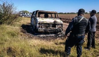 El pasado 21 de noviembre fueron localizados dos cuerpo calcinados dentro de un carro en un municipio de Sinaloa. Foto: Cuartoscuro