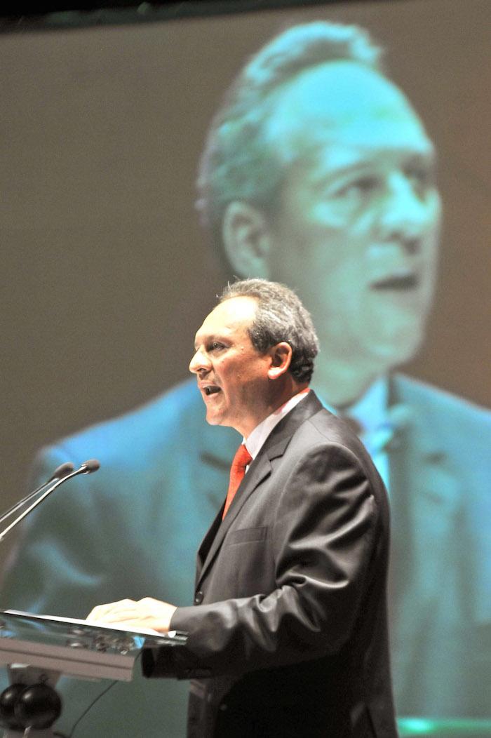 Gerardo Sánchez García, Senador del PRI y ex presidente de la CNC. Foto: Cuartoscuro/Archivo