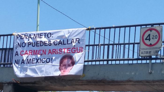 """El despido de la periodista Carmen Aristegui y su equipo de su programa de noticias en MVS Radio en marzo pasado """"ha sido el caso más emblemático de posible censura sutil registrado en los últimos meses"""", dice Fundar. Foto: Cuartoscuro"""