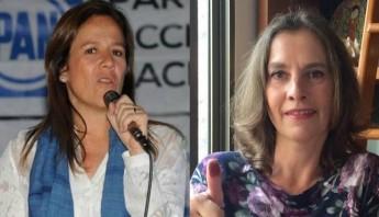 """La reacción de ambas surgió a raíz de que Obrador dijera que el ex Presidente Felipe Calderón """"pretende gobernar a través de su esposa, Margarita Zavala"""". Foto: Especial"""