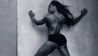 Serena williams en el nuevo calendario Pirelli. Foto: http://pirellicalendar.pirelli.com
