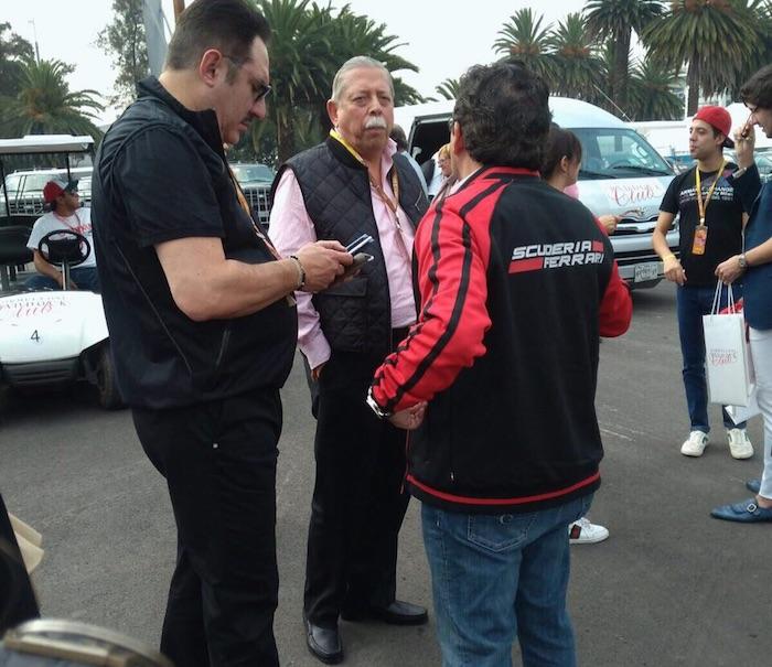 El Gobernador de Tamaulipas, Egidio Torre Cantú, en el Gran Premio de México. Foto: Especial SinEmbargo