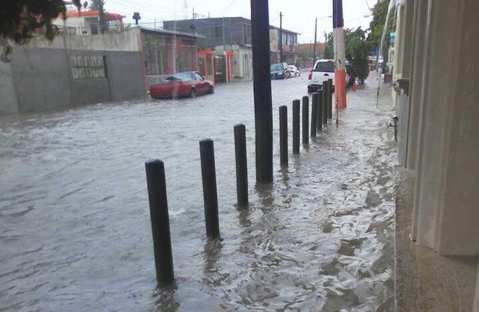 Las lluvias provocaron afectaciones en el estado de Tamaulipas. Foto: Especial SinEmbargo