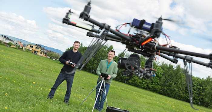 Festival de drones 2015. Foto: dronefest