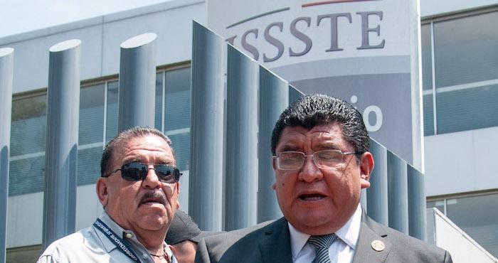 Luis Miguel Victoria Ranfla, presidente del sindicato de trabajadores del ISSSTE. Foto: Cuartoscuro
