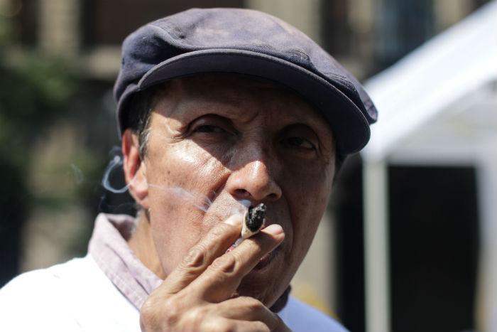 Peña Nieto reiteró su negativa a legalizar la mariguana o cualquier otra droga. Foto: Francisco Cañedo