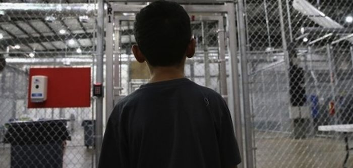 Casi 5 mil niños inmigrantes que fueron detenidos en octubre pasado cuando intentaban cruzar hacia Estados Unidos. Foto: Esspecial.