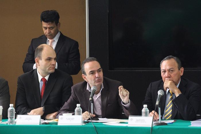 Jorge Estefan Chidiac, confirmó que sí hay una urgencia por parte del PRI para aprobar esta reforma. Foto: Luis Barrón, SinEmbargo.