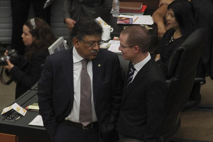 Ricardo Anaya está en toda la disposición de negociar con el PRD las alianzas, dice Basave.Foto:Cuartoscuro.