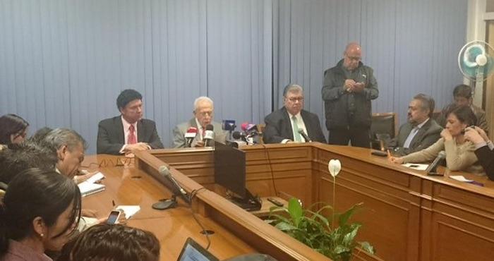 El presidente de la Conasami informó esta noche que el salario mínimo se incrementará en 4.2 por ciento. Foto: Twitter @navarreteprida