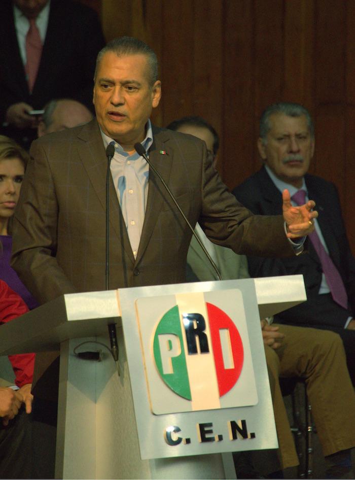 Manlio Fabio Beltrones, dirigente del PRI. Foto: Cuartoscuro