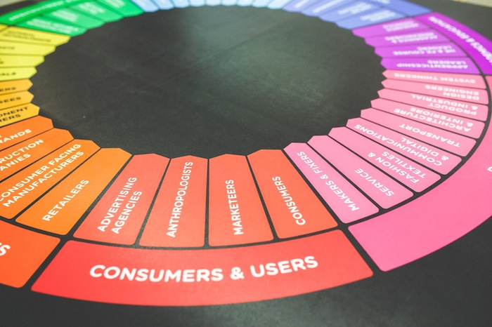 La rueda de colores de la mercadotecnia. Imagen: TicBeat