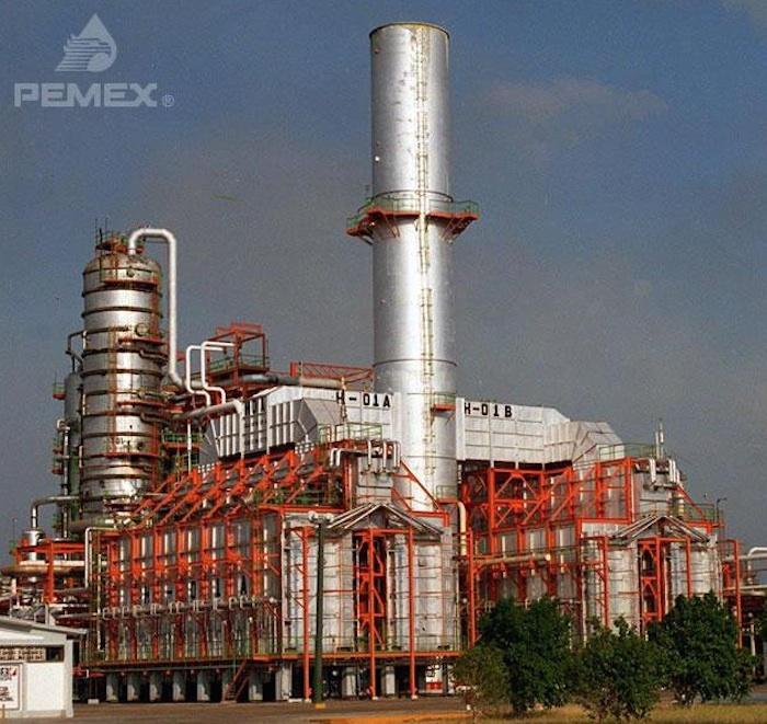La refinería Salina Cruz registró un incendio en noviembre. Foto: Pemex.