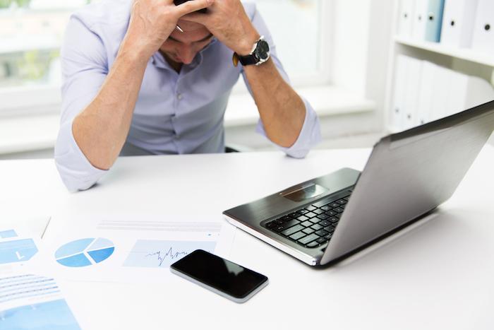 El estrés laboral puede afectar el estado de salud y la concentración. Foto: Shutterstock