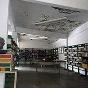 Interior de la biblioteca municipal de Arcelia. El estado de Guerrero posee uno de los i?ndices educativos más bajos de México. Foto SinEmbargo Humberto Padgett