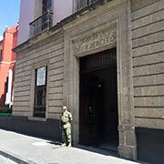 Fachada del Museo del Ejército, en el Centro Histo?rico de la Ciudad de Me?xico Foto SinEmbargo Humberto Padgett