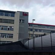 El complejo de Heckler & Hock es el único sitio de Oberndorf con instalacions de seguridad y ca?maras de vigilancia