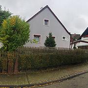 Parte del conjunto residencial a la fábrica de Heckler & Koch, en Oberndorf, Alemania