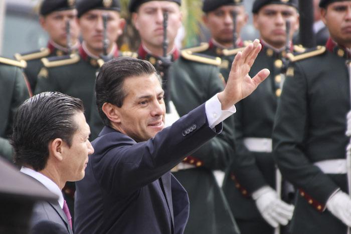 """The New York Times dice que bajo el mando de Peña Nieto """"el Gobierno mexicano rápida y sistemáticamente ha pintado de blanco verdades horribles"""". Foto: Cuartoscuro."""
