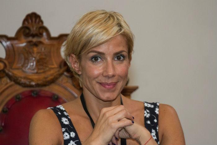 Alejandra Lagunes, la responsable de la estrategia digital de la Presidencia y esposa de Pacchiano. Foto: Cuartoscuro