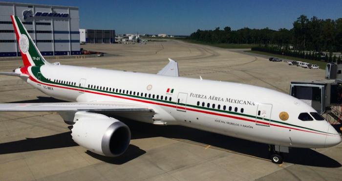 El total pagado por la aeronave, ya equipado fue de 2 mil 952.4 millones de pesos. Foto: Especial
