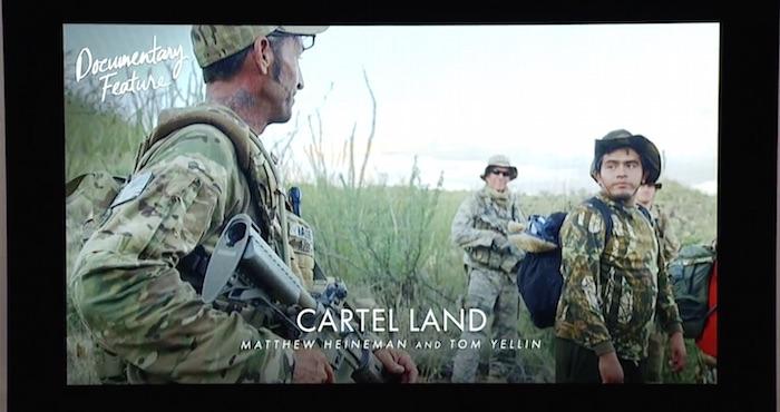 Cartel Landa fue nominada a Mejor Documental. Foto: Especial.