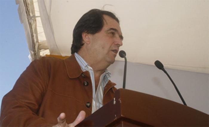 Juan Armando Hinojosa, de Grupo Higa, en una de las pocas fotografías en las que aparece. Foto: Especial