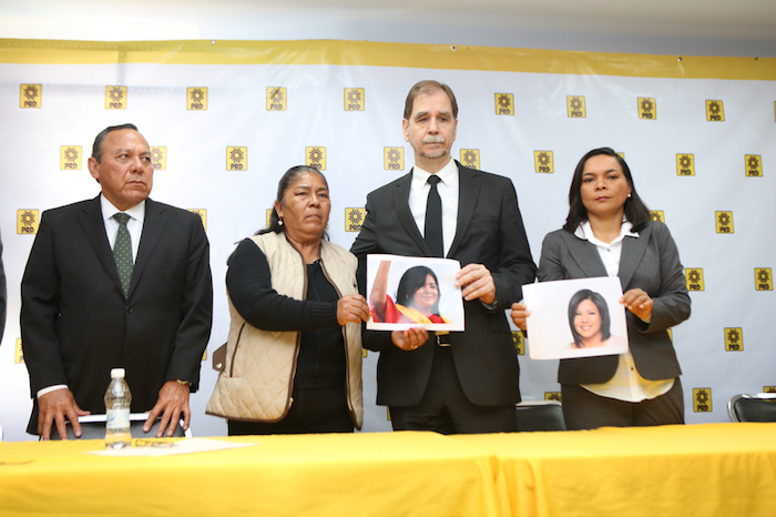 Zambrano y Basave en el homenaje a la Alcaldesa de Temixco. Foto: Francisco Cañedo, SinEmbargo.