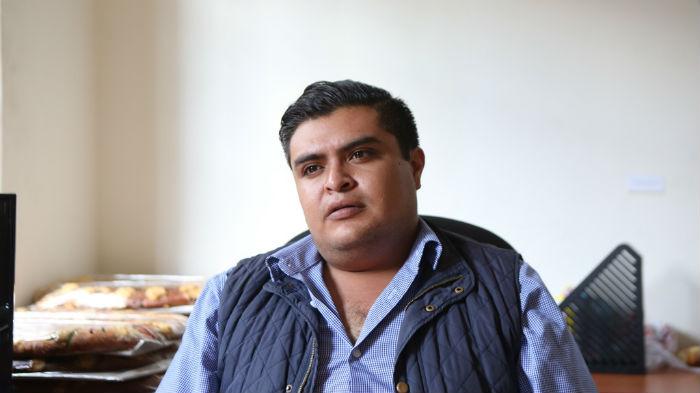 Eder Campo Domínguez,  regidor por el PRD. Foto: Francisco Cañedo, SinEmbargo