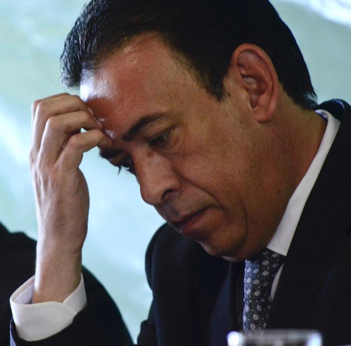 Humberto Moreira, ex Gobernador de Coahuila, fue detenido hoy en España. Foto: Cuartoscuro