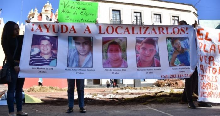 Los cinco jóvenes desaparecieron hace una semana. Foto: Blog Expediente.