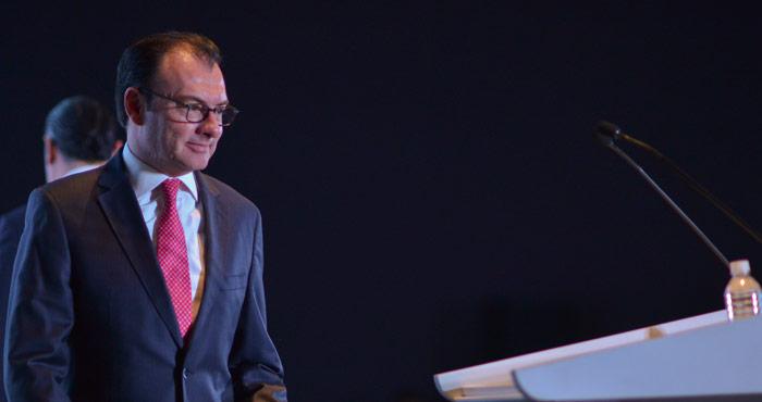 Luis Videgaray, Secretario de Hacienda. Foto: Cuartoscuro