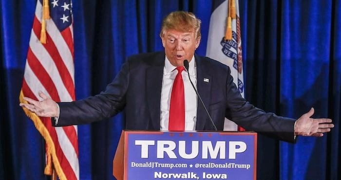El aspirante a la candidatura presidencial republicana, Donald Trump. Foto: EFE