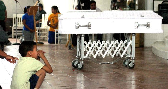"""Redim calcula al menos 2 mil homicidios de infantes en lo que va de la """"guerra contra el narco"""". Foto: Cuartoscuro."""